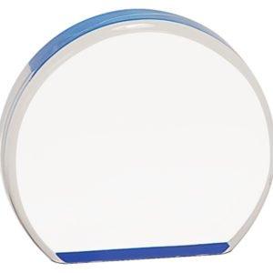 BLUE ACRYLIC ROUND