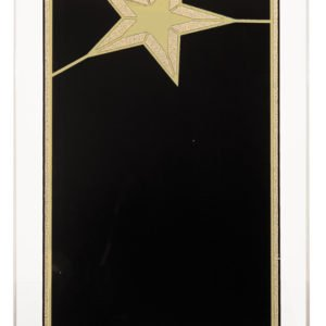 GOLD STAR ACRLYLIC PLAQUE