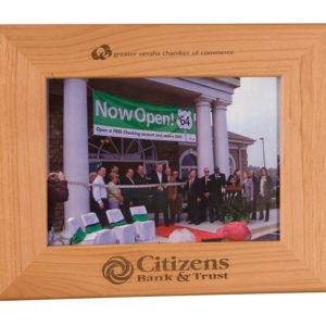 5 X 7 GENUINE RED ALDER PICTURE FRAME