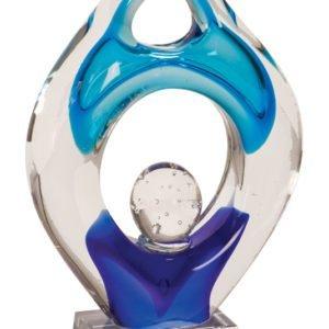 """10 1/4"""" PREMIER WINNER ART GLASS"""