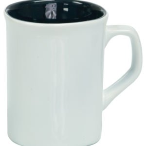 10 OZ WHITE ROUNDED CORNER LAZERMUGS