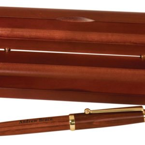 ROSEWOOD PEN & CASE SET
