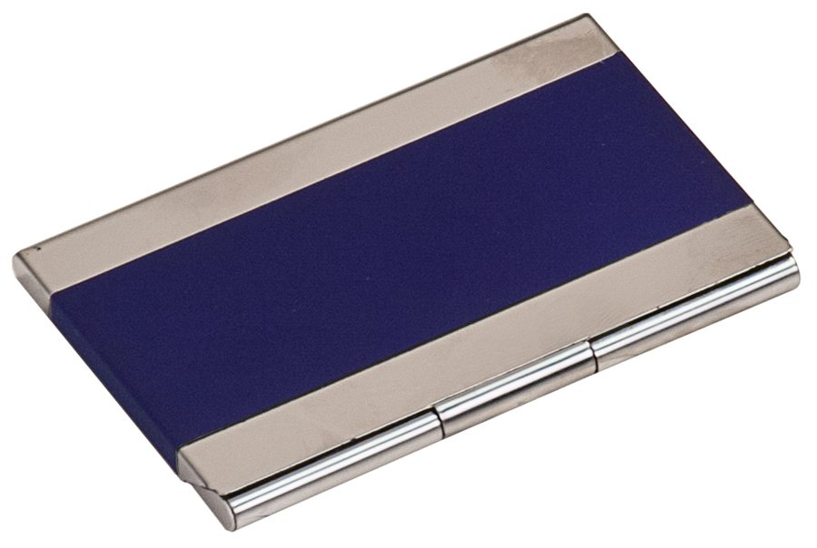 BLUE/SILVER BUSINESS CARD HOLDER   Capitol Medals