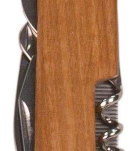 WOOD 8 FUNCTION POCKET KNIFE