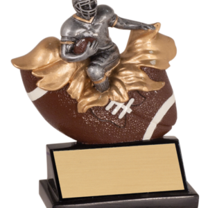 XPLODING FOOTBALL RESIN AWARD