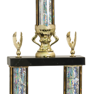 2 POST MARTIAL ARTS TROPHY