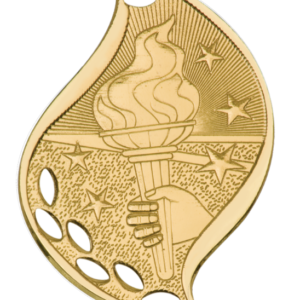 VICTORY FLAME SPORT MEDAL