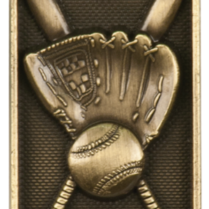 BASEBALL/SOFTBALL 3D DOG TAG