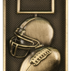 FOOTBALL 3D DOG TAG
